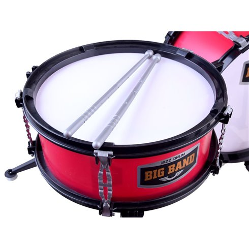 Dideli būgnai, 5 būgnai, raudonos spalvos PTP00131