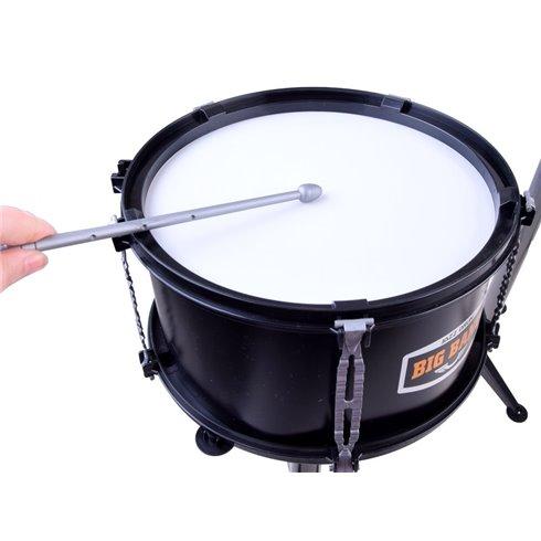 Dideli būgnai, 5 būgnai, juodos matinės spalvos PTP00131