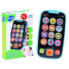 Vaikiškas interaktyvus telefonas JOK PTP02831 Mėlynas