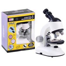 Mikroskop laboratorium zestaw dla naukowca PTP03685 White