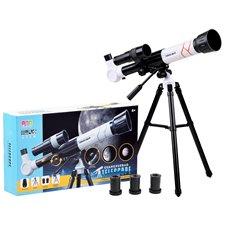 Luneta teleskop na statywie okular20x30x40x PTP03686 White