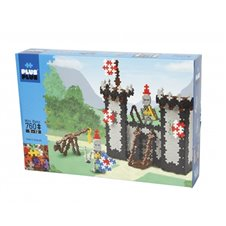 Konstruktorius Plus Plus Riterių pilis (Mini bazinės) 760 vnt.
