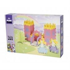Konstruktorius Plus Plus konstruktorius Rožinė pilis (Mini pastelinės) 760 vnt.