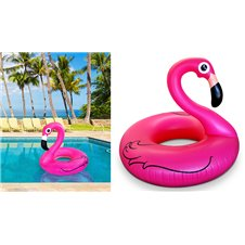 Plaukimo ratas flamingas 90cm