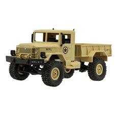 Nuotoliniu būdu valdomas karinis dykumos sunkvežimis RC