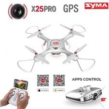 Dronas Syma X25pro x25 pro GPS follow me FPV