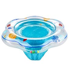 Pripučiamas plaukiojimo ratas vaikams su sėdyne