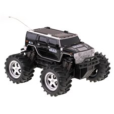 Radio bangomis valdoma mašina Monster Truck 6568-330N juoda