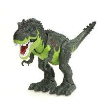 Elektroninis vaikštantis riaumojantis dinozauras T-REX žalias