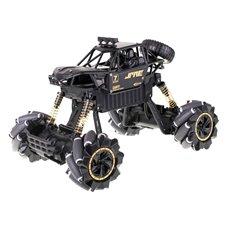 Nuotoliniu būdu valdomas visureigis RC Drift Rock Crawler metal 1:14 juodas