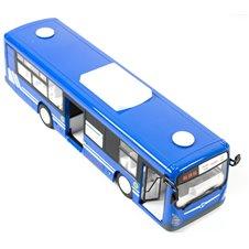 Nuotoliniu būdu valdomas autobusas RC su durelėmis mėlynas