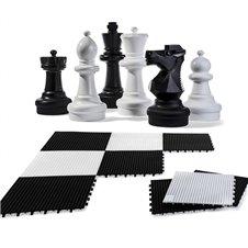 Didelis sodo šachmatų rinkinys Rolly Toys 64cm