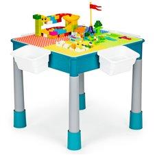 Staliukas su kėdute Eko Žaislas Kaladėlės