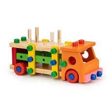Medinis konstruktorius Eko Žaislas su įrankiais