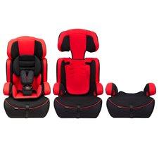 Automobilinė saugos kėdutė Eko Žaislas Kraft 3in1 9-36 kg Raudona