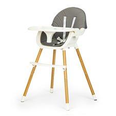 Maitinimo kėdutė Eko Žaislas Bangos 2in1 Pilka