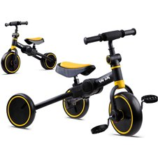 Triratukas - balansinis dviratukas JOK 3in1 PTP00663 Yellow