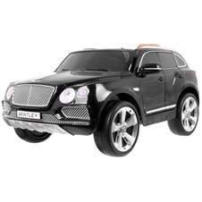 Vaikiškas elektromobilis RMZ Bentley Bentayga Juodas