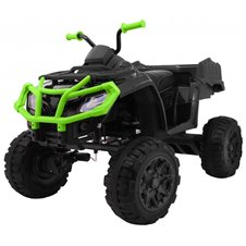 Elektromobilis RMZ All-terrain Quad 4 x 4 Juodos ir žalios spalvos