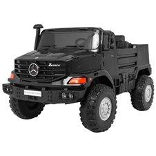 Vaikiškas elektromobilis RMZ Vehicle Mercedes-Benz Zetros Juodas