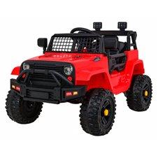 Elektrinis džipas RMZ Jeep Dark Night Raudonas