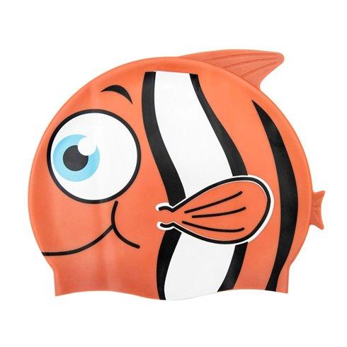Bestway maudymosi kepurė vaikams žuvytė 26025 Orange