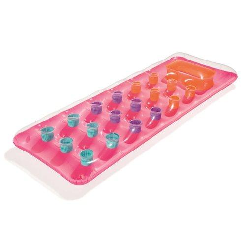Bestway dmuchany materac z okienkiem 188x71 43040 Pink