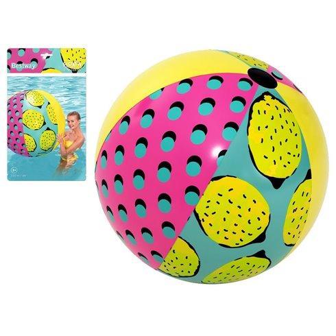 Bestway Duża kolorowa piłka plażowa 122cm 31083