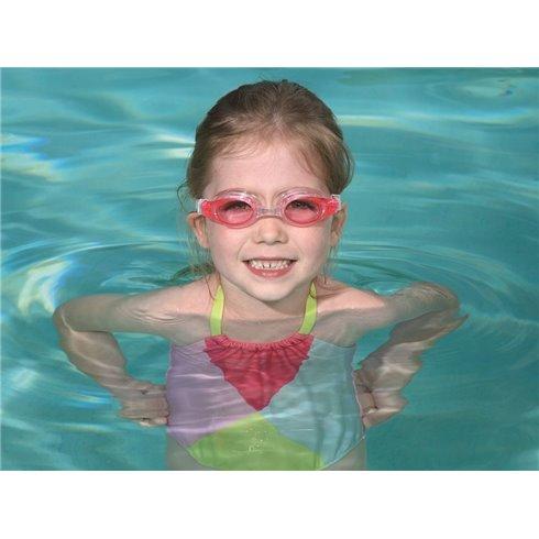Bestway plaukimo akiniai vaikams +3 21062 rožiniai