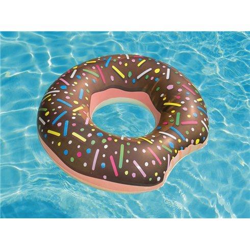 Pripučiamas plaukimo ratas Bestway Big donut 36118 rudas