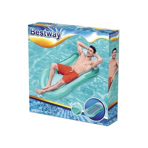 Pripučiamas čiužinys Aqua Bestway 43103 žalias