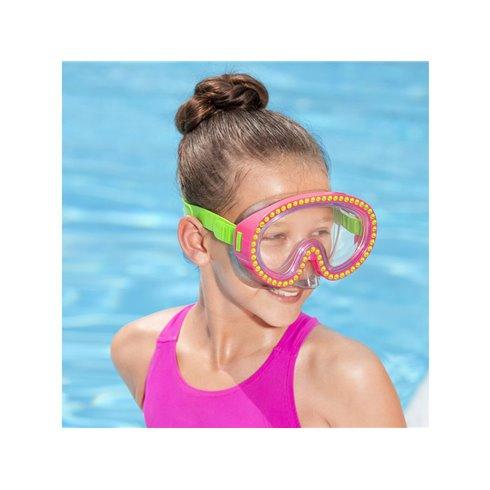 Kaukė plaukiojimui Bestway 22062 rožinė