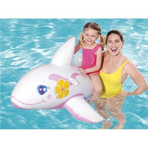 Pripučiamas delfinas Bestway 41037 baltas