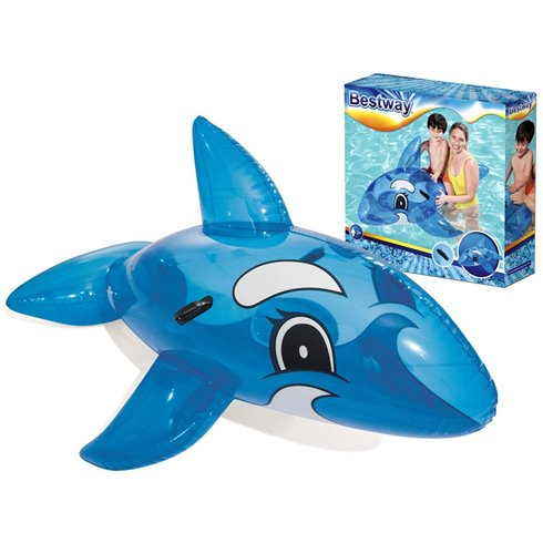 Bestway duży dmuchany niebieski Delfin 157cm 41037 Blue