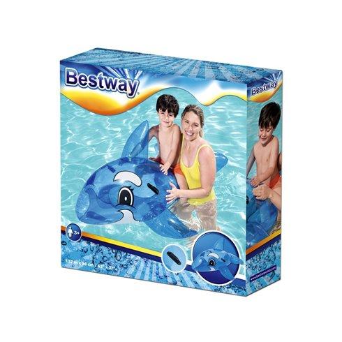 Pripučiamas delfinas Bestway 41037 mėlynas