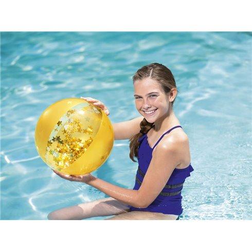Paplūdimio kamuolys Bestway 31050 geltonas