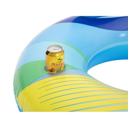Pripučiamas plaukimo fotelis Bestway su LED 118x117cm 43252