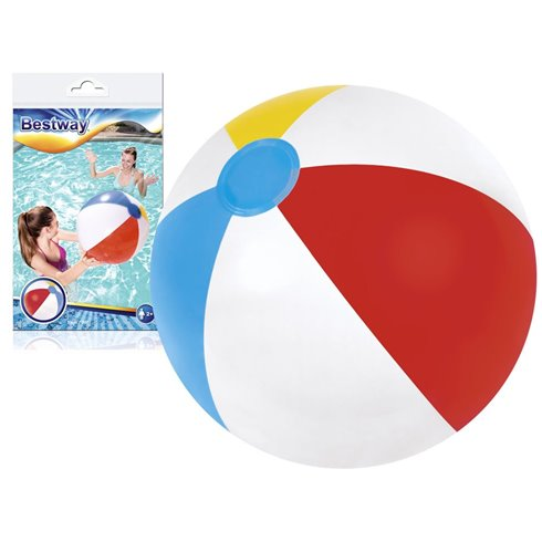Bestway Dmuchana piłka plażowa w paski 51cm 31021