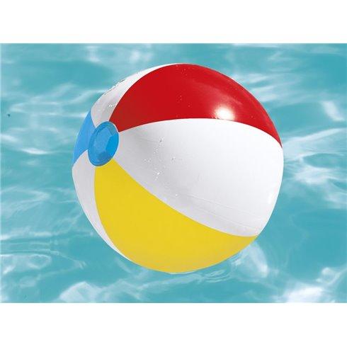 Bestway pripučiamas paplūdimio kamuolys juostelės 51cm 31021