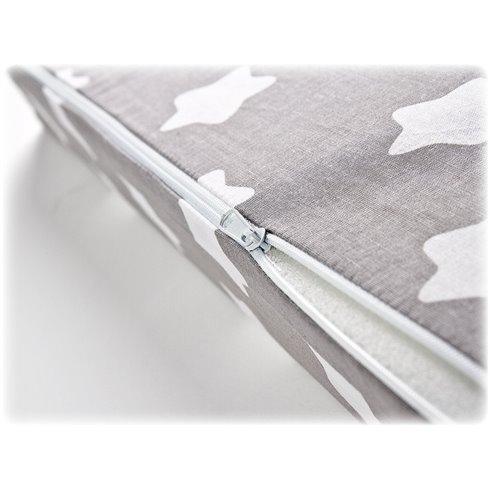 Klin pagalvės užvalkalas Sillo 38x30 Pilkas Žvaigždės