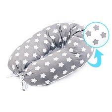 Maitinimo pagalvė Sillo XL Pilka Žvaigždės