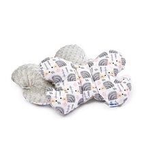Drugelio formos pagalvė Sillo 25x36 Pilka Ežiukai
