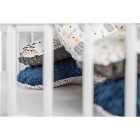 Maitinimo pagalvė Sillo Mėlyna Debesėliai