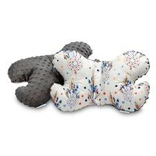 Drugelio formos pagalvė Sillo 25x36 Pilka Sapnų gaudyklės