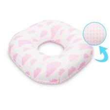 Apvali pogimdyvinė pagalvė Sillo Rožiniai Debesėliai