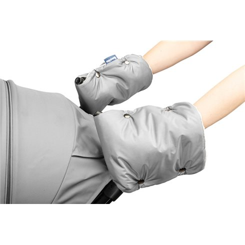 Pašiltinimas rankoms - pirštinės Sillo Minky Pilka