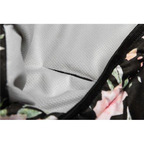 Vokelis į automobilinę kėdutę Sillo Velvet Juodas Gėlės