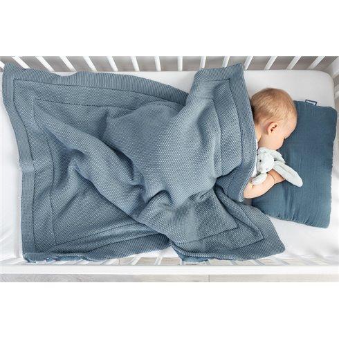 Megztas pagalvės ir antklodės rinkinys Sillo Rožinis