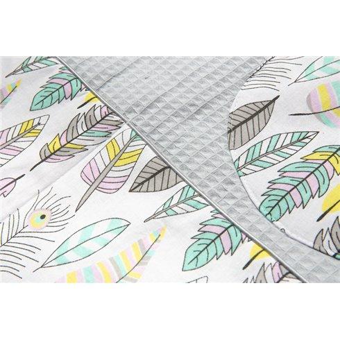 Kišenė lovytei Sillo Wafel Pastelinės plunksnos