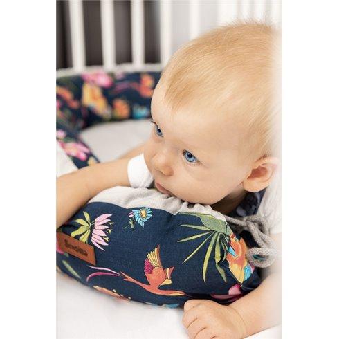 Kūdikio lizdas Sillo Velvet 80x45cm Pilka puzzle